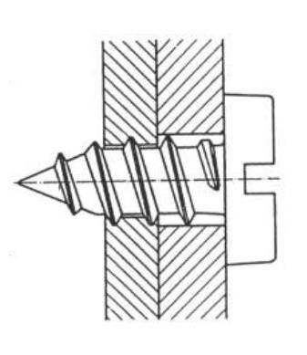 Blechdicke für Blechschraube, Blechschraube vorbohren, Blechschraube Kernloch, richtige Blechschraube,