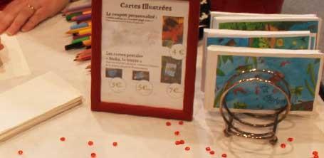 """Cartes postales du collectif de créateurs """"Moka la loutre"""" créé par Barroussemania"""