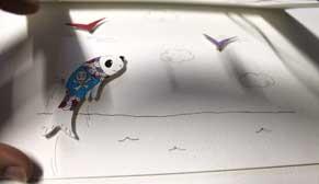 Visuel de l'article de blog vous offrant des DIY papercraft gratuits réalisés par l'illustratrice Cloé Perrotin