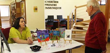 Dompierre-sur-Besbre : un lecteur de la trilogie Zip le lutin illustrée par Cloé Perrotin