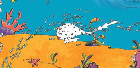 """Détail illustré du livre """"Faribole et Mistigri"""" illustré par Cloé Perrotin, écrit par Marie Garnier et édité chez YIL Editions"""