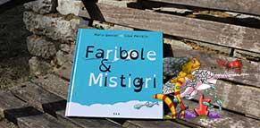 Visuel pub de la fiche du livre jeunesse Faribole et Mistigri sur la boutique Illustr'&Vous