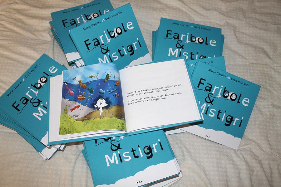 Le poisson Faribole illustré par Cloé Perrotin est bien triste : saurez-vous l'aider ?