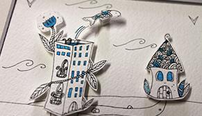 Vignette-lien vers les DIY papercraft de l'illustratrice Cloé Perrotin