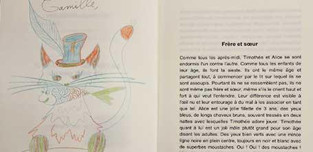 Dédicace du livre Le chat qui veut devenir un petit garçon à Dompierre-sur-Besbre en 2016