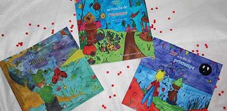 La trilogie fantastique jeunesse de Zip le lutin et ses amis écrit par Marie-Françoise Bongiovanni et illustré par Cloé Perrotin
