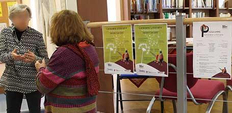 Stands, expositions, conférences et librairie à la 6ème Caravane Littéraire d'Yzeurespace en 2016