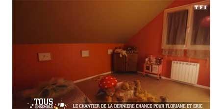 Une chambre d'ours avec des fées à Thauvenay dans le Cher, sur le site de l'illustratrice Cloé Perrotin