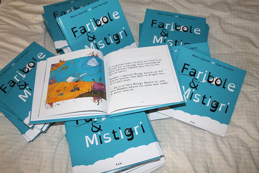 L'album jeunesse Faribole et Mistigri paru chez YIL Edition