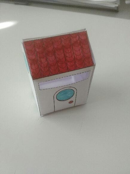 Box façon Tiny house réalisée par Benjamin, 38 ans, agent administratif, Nièvre