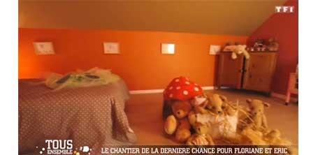 Décoration d'une chambre d'enfant, sur le site de l'illustratrice Cloé Perrotin