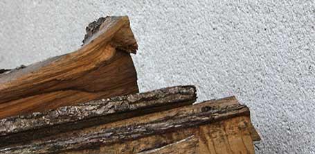 Un tas de bois en forme de tête de cheval pour montrer la sincérité et la proximité des services de Cloé Perrotin