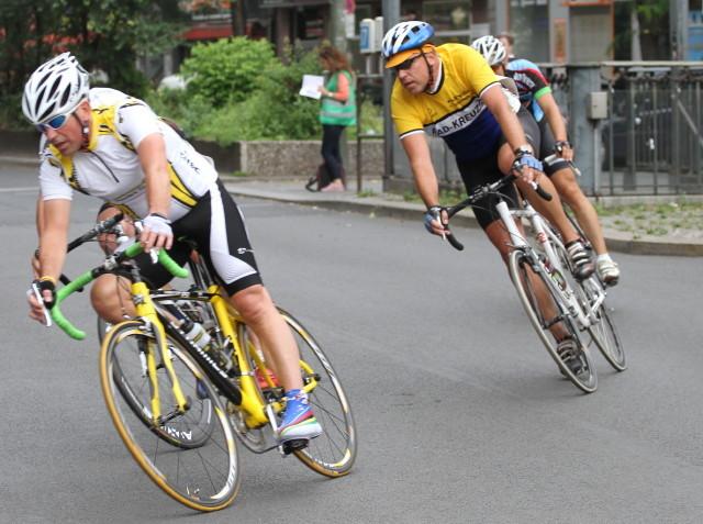 Frank Rösemeier im Rennen der Senioren-Klasse