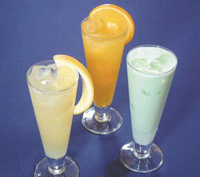 グレープフルーツジュース オレンジジュース ヨーグルトジュース