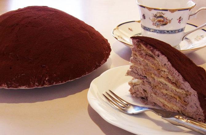 チョコビスケーキ