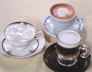 マシュマロティ カプチーノコンカカオ ウインナーコーヒー