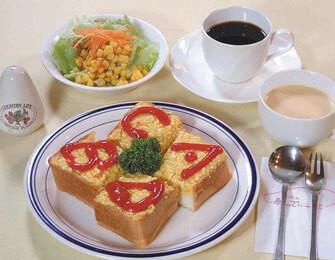 エッグトーストランチ