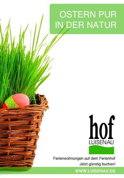 Luisenau Ostern Uckermark Ferien
