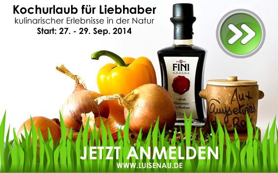 Kochurlaub Uckermark Brandenburg