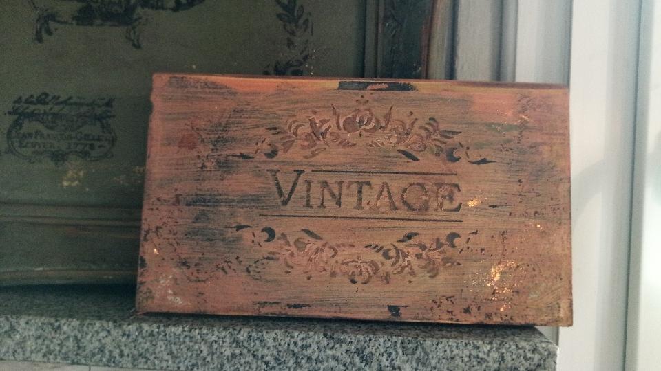 """...schild """"vintage"""" euro 10"""