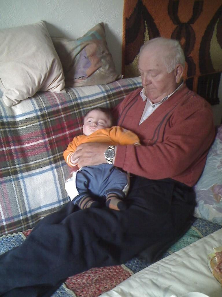 Mein Opa und ich, ganz große Liebe.