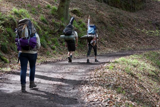 Eifel Wanderung Pfadfinder