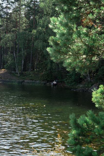 Schweden Baven See, Kanu