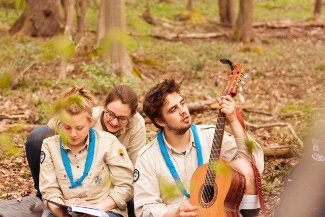 Pfadfinder Singerunde Gitarre Liederbuch