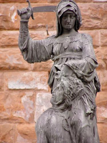 Giuditta e Oloferne, Palazzo Vecchio, Florence, tourism, Toscana, Tuscany