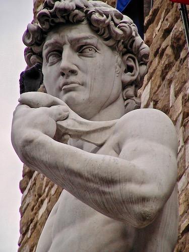 David, Michelangelo, Palazzo Vecchio, Florence, tourism, Toscana, Tuscany