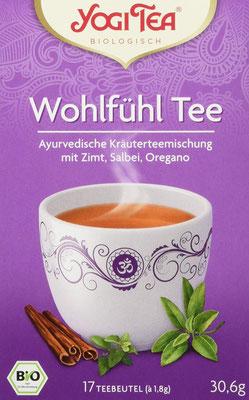 Yogi Tea Wohlfühl Tee Bio - Yogi Tee ist mehr als einfach nur eine ayurvedische Teemischung!