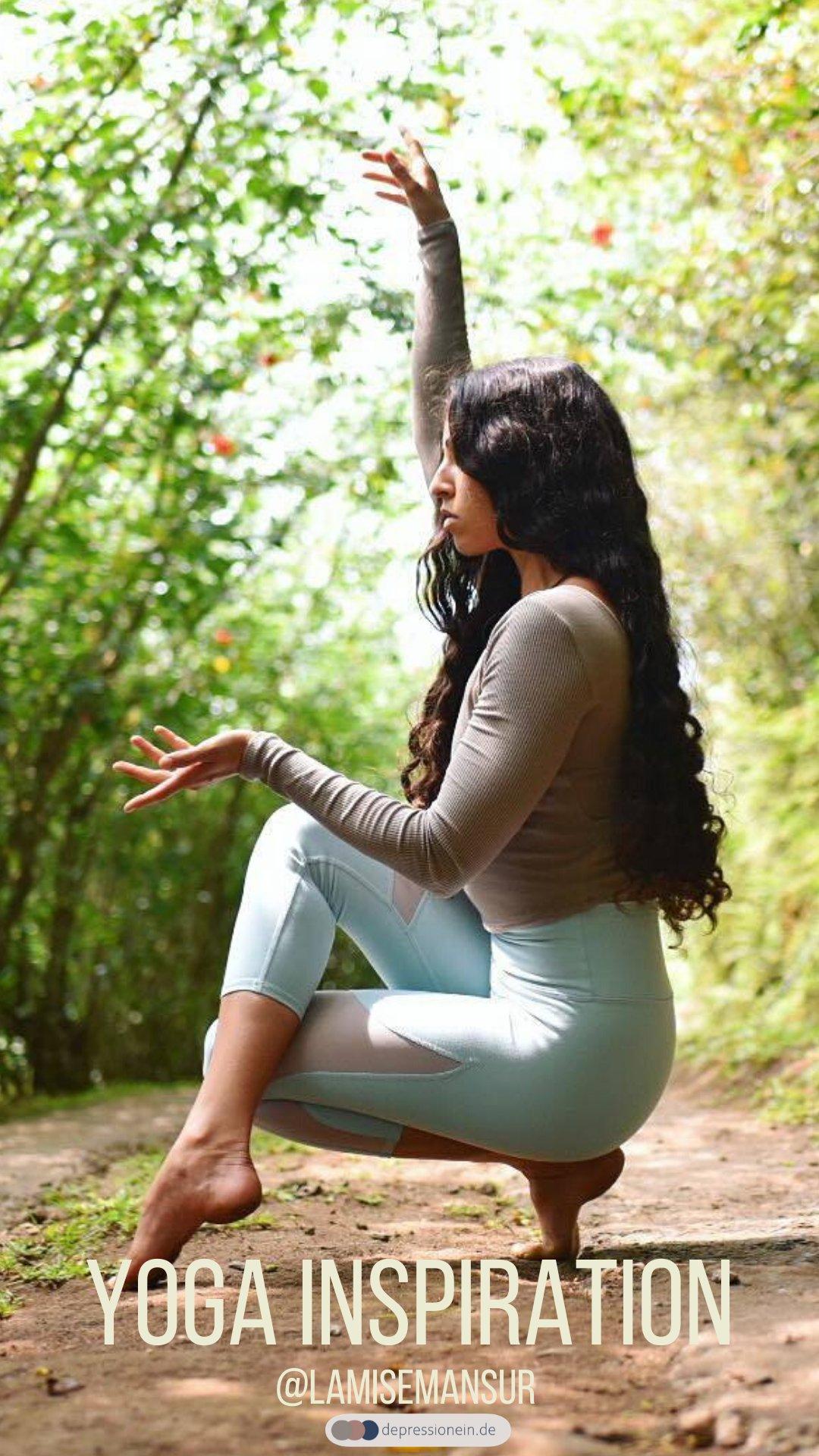Yoga Inspiration - Lamise Mansur