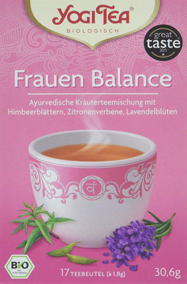 Yogi Tea Frauen Balance Bio - Yogi Tee ist mehr als einfach nur eine ayurvedische Teemischung!