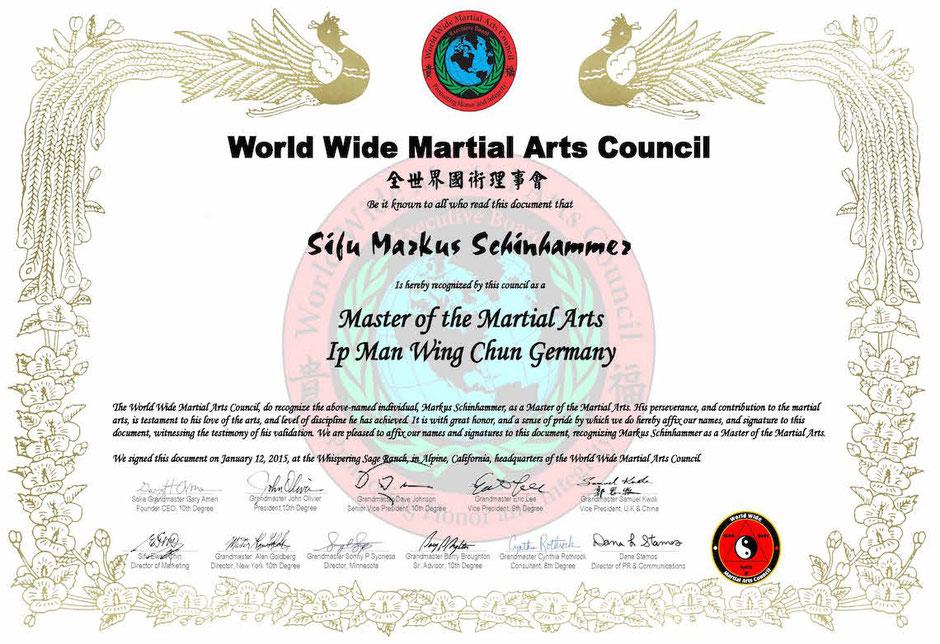 Martial Arts Council