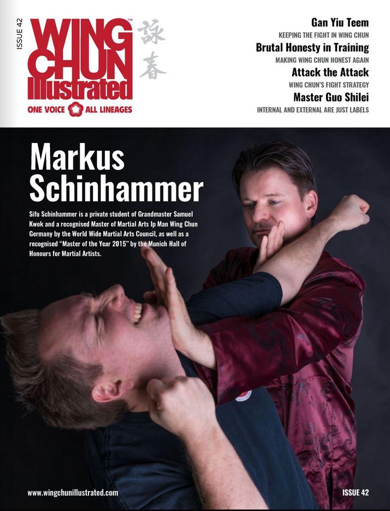 Wing Chun Illustraded Cover