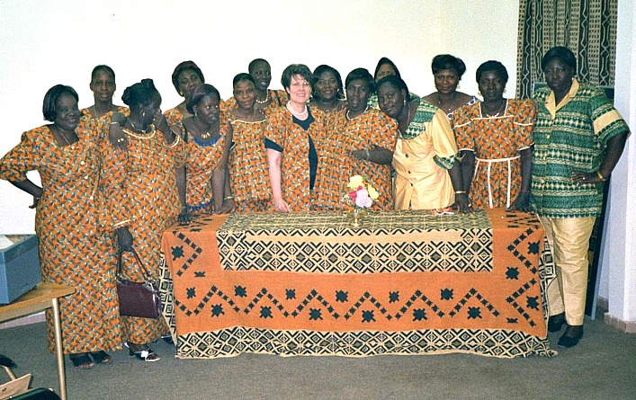 Foundation of BPW Ouagadougou 2002 (Photo: A. Rüegg)