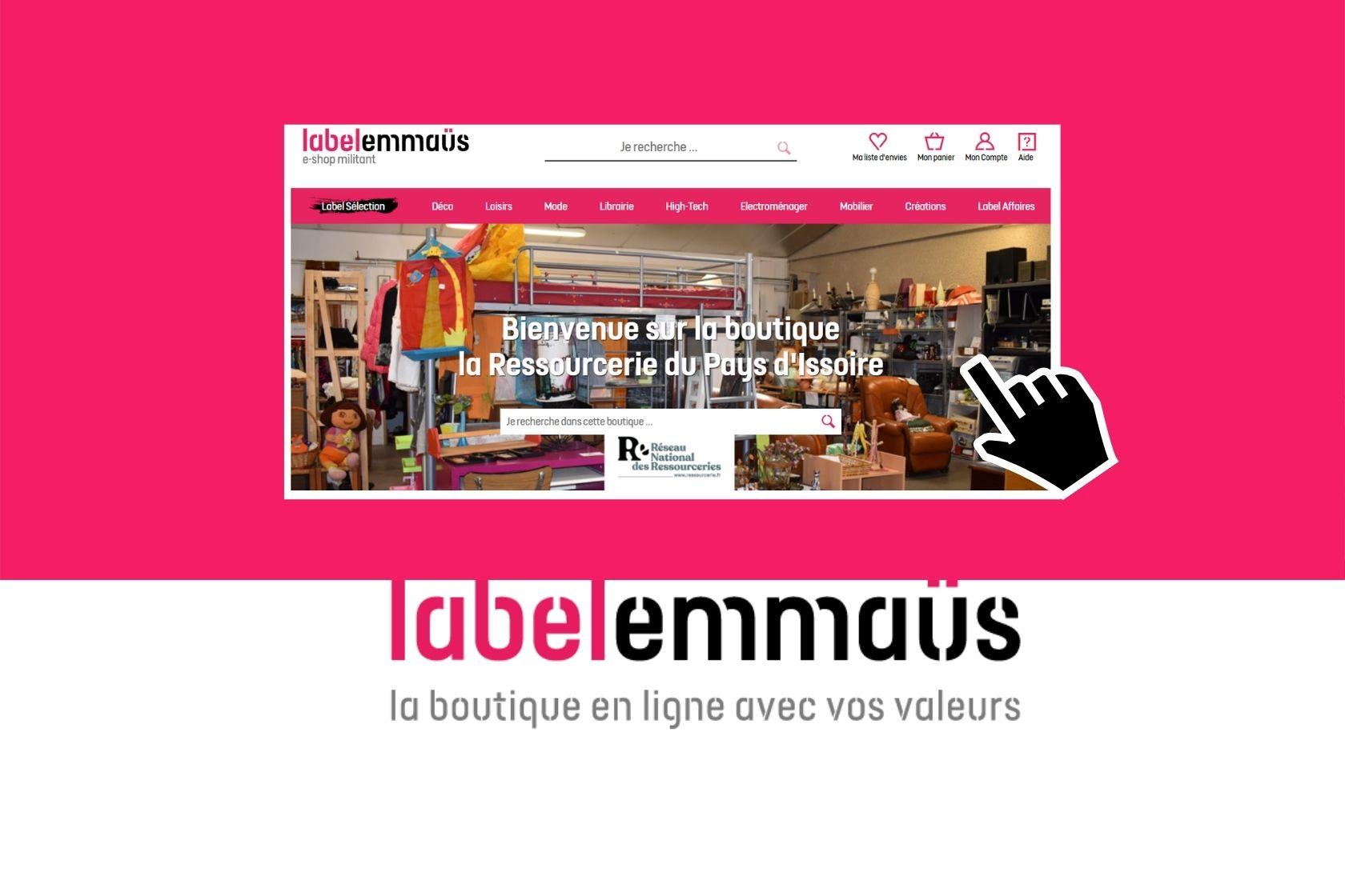 Ouverture de notre boutique en ligne