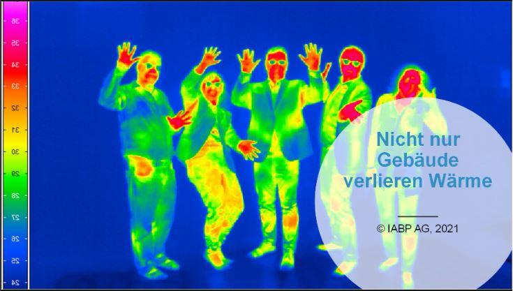Nicht nur Gebäude verlieren Wärme