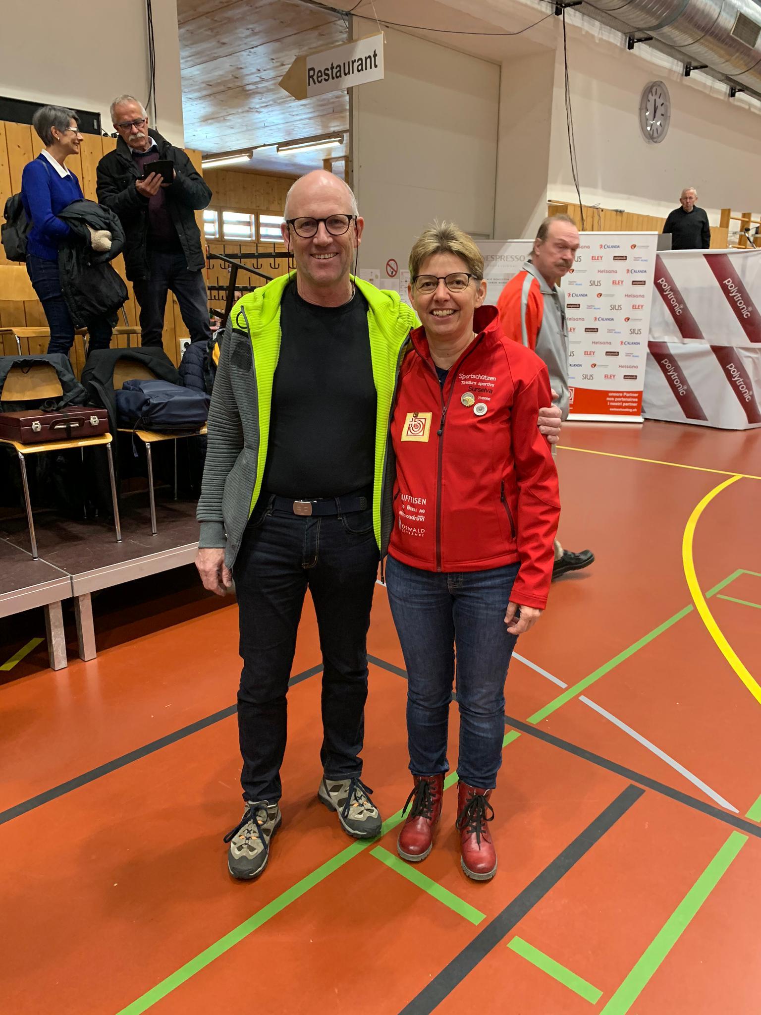 Schweizer Meisterschaft  Auflageschiessen 2020 Wachablösung 4. Rang  mit neuem Schweizermeister Alex Rota