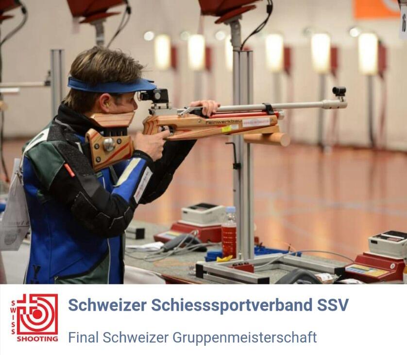 Schweizer Meisterschaft Auflageschiessen 2018 Titelverteidigung 2. Meistertitel