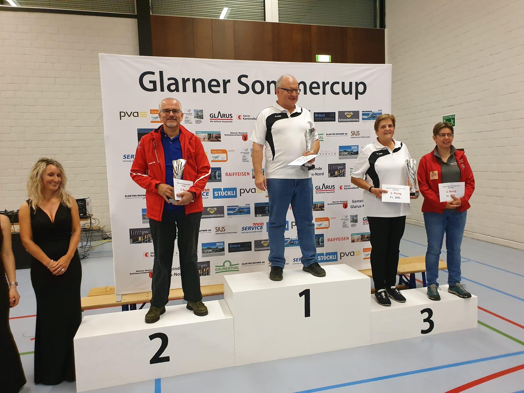 4. Rang Glarner Sommercup 2019
