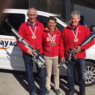 Schweizer Meisterschaft Auflageschiessen 2018 Gruppe 3. Rang