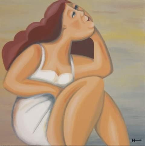 Träumen, 60x60 cm