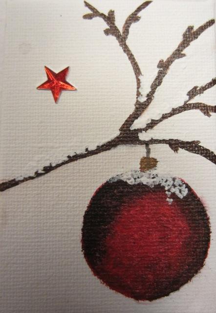 Christmas Card 1, 6x9 cm
