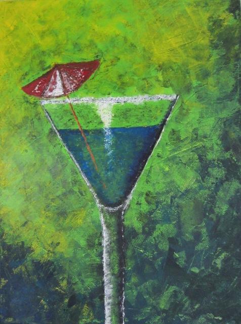 Cocktail, 30x40 cm