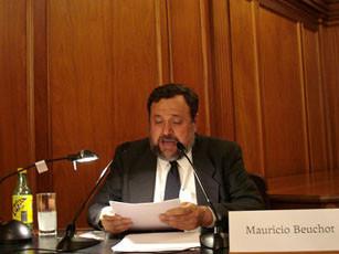 Mauricio Beuchot en la Academia Mexicana de Historia