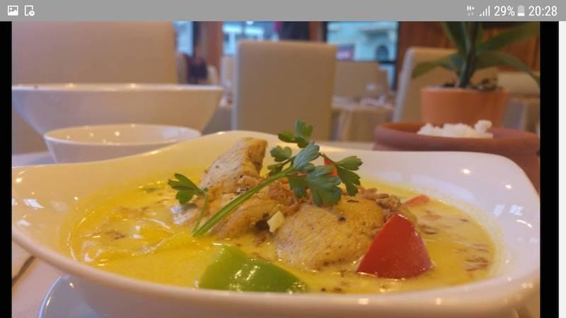 Cassolette de poulet au curry