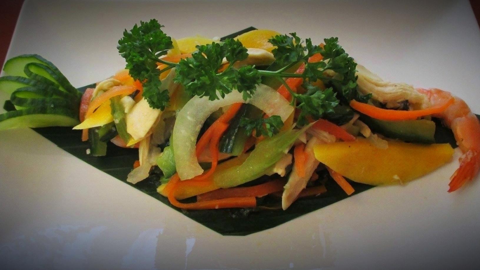 Salades crevettes