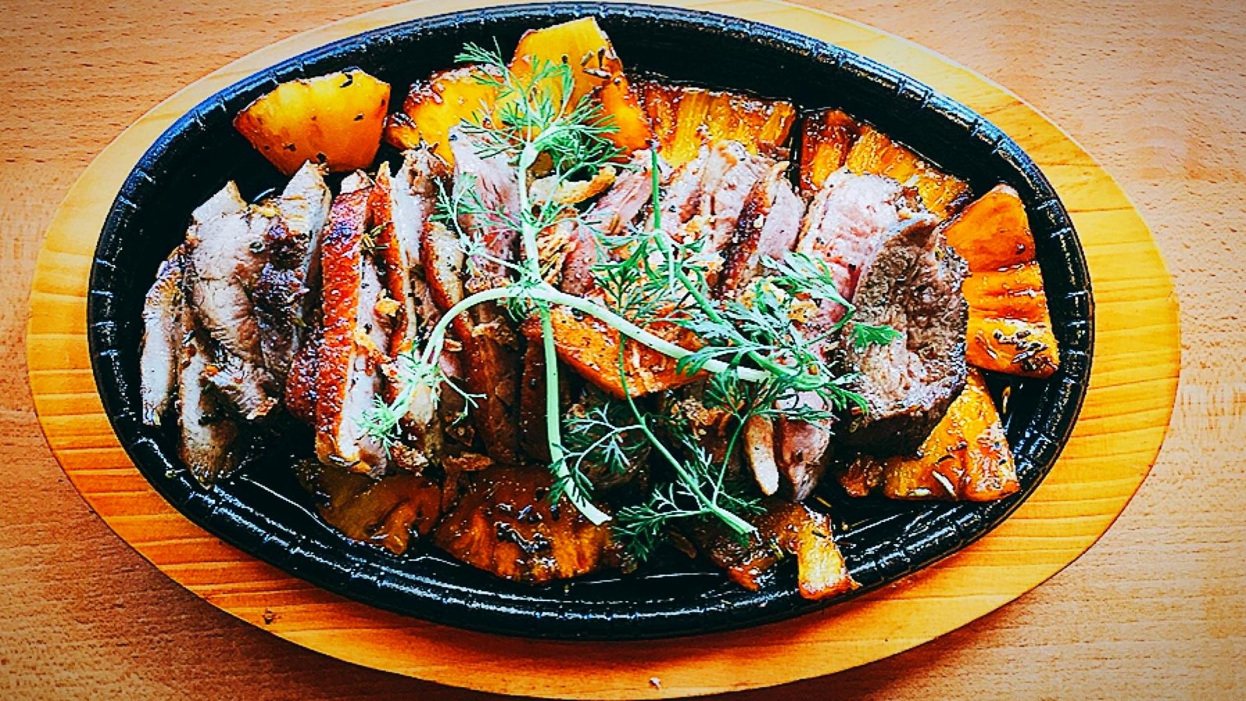 Canard grillé
