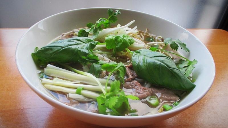 Phở : Soupe tonkinoise spéciale